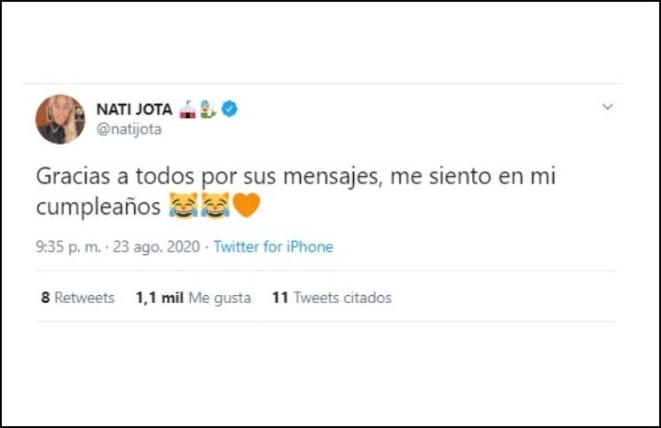 """Los explosivos """"likes"""" de Nati Jota tras confirmarse la relación de su """"amiga"""" Ivana Nadal y su ex"""