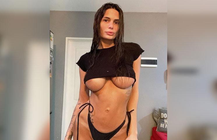 """Magalí Mora posó en topless y prendió fuego las redes: """"No tengo palabras"""""""