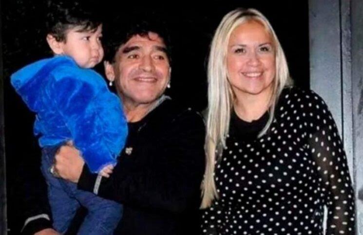 Dramático testimonio de Verónica Ojeda a un mes de la muerte de Diego Maradona